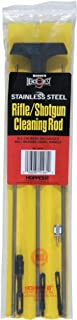 Hoppe's Bench Rest 3-Piece Stainless Steel Cleaning Rod, Universal Rifle/Shotgun