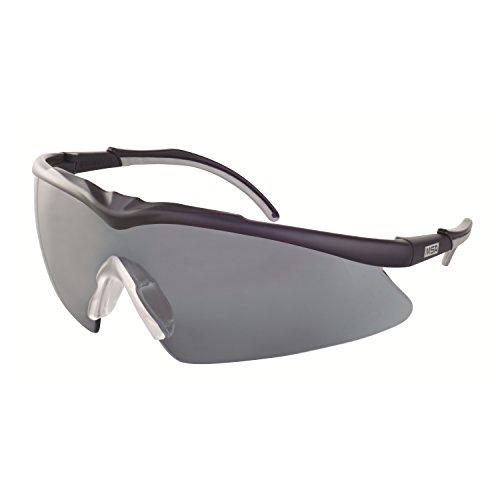 MSA Safety TecTor Opirock Ballistische Schutzbrille UV400 + Mikrofaserbeutel und Kordel, Farbe: getönt