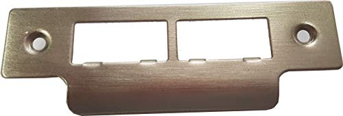 Long Strike Plates for Mortice Locks - Satin Stainless Steel x 1