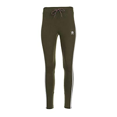adidas Originals Women's Tights Dust Green Large
