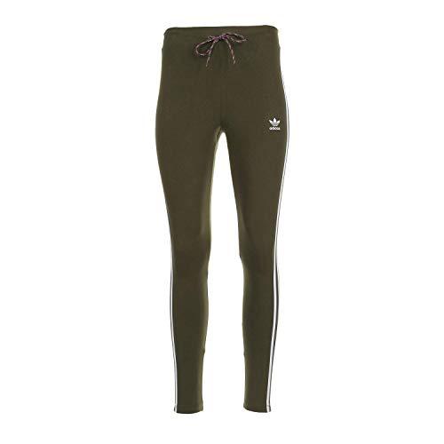 Adidas Originals - Pantaloni aderenti da donna - verde - L