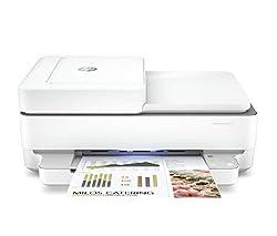 L'imprimante tout-en-un HP ENVY PRO 6420 contient plus de 20% de plastique recyclé. Fonctionnalités : impression recto-verso, copie, numérisation, envoi de fax mobile Pensez à tout sauf à l'encre avec HP Instant Ink – Votre encre livrée automatiqueme...