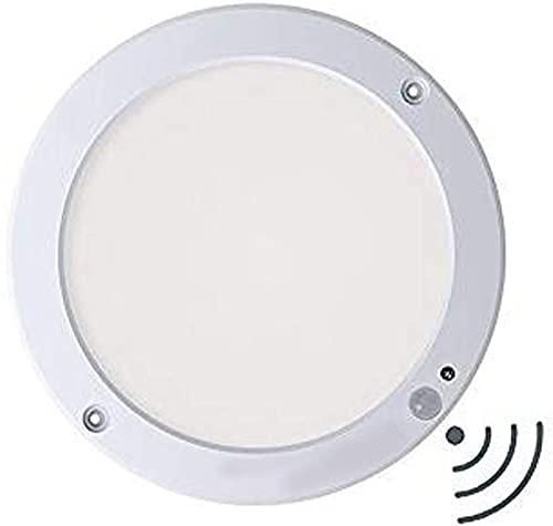 BeTIM 18W Downlight LED Plafón con Sensor de Movimiento Lámpara de Pared Techo Foco Empotrable,1300 LM,6000K Blanco Frío [Clase de Eficiencia Energética A]