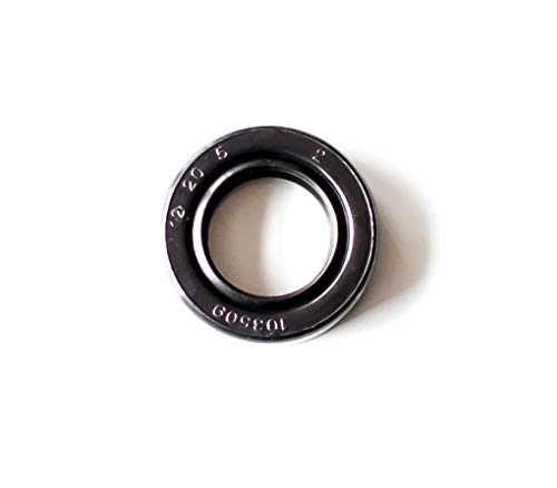 Metal Case w//Viton Rubber Coating EAI VITON Oil Seal 70MM x 92MM x 12MM TC Double Lip w//Stainless Steel Spring