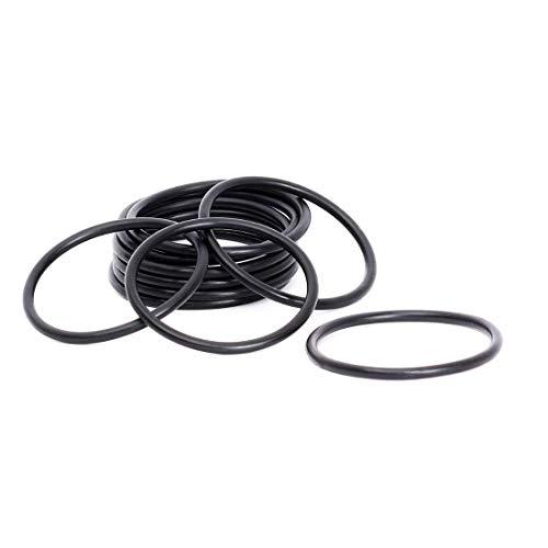 10 Pcs O-ring 35 mm x 45 mm x 5 mm | EPDM Kautschuk Dichtungsringe Dichtung Gummidichtung O-ring 35x5-70 ShA - Dichtungen Gummiringe Set O-ringe Sortiment Dichtungssatz