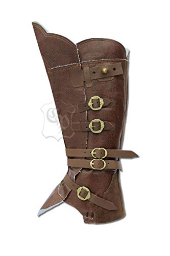 CP-Schuhe Larp Polainas Botas Sirven Pirata de Mosquetero Medieval Carnaval