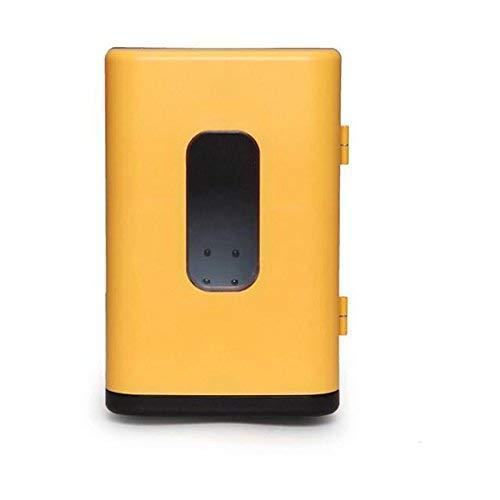 NLRHH Refrigerador de Coches, Mini refrigerador Mini Dormitorio Estudiante Mini Potencia Baja Refrigeración Portátil for Hogar, Oficina, Coche o Barco Peng
