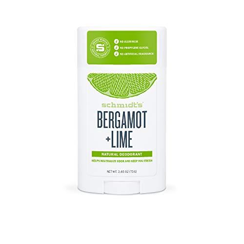 Schmidt's - Desodorante Natural en Barra Bergamota y Lima Vegano - 75 g
