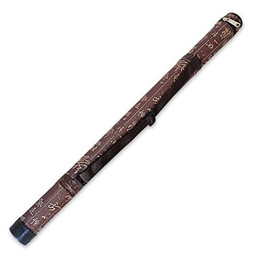 QFWN Professionelle Bambus-Flöte Quer-Dizi-Aufbewahrungskoffer-hölzerne Xiao-Flöten-Tasche (Color : 58cm)