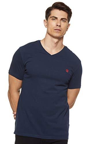 Timberland Dunstand River Camiseta, Azul (Dark Sapphire 433), XX-Large para Hombre