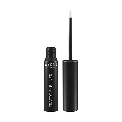 WYCON cosmetics TRATTO EYELINER BLACK con punta a scalpello e finish ultra black