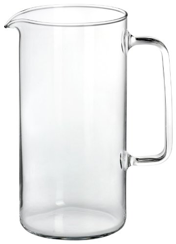 "Bohemia Cristal 093 006 037 SIMAX Krug ca. 1000 ml aus hitzebeständigem Borosilikatglas \""Cylinder\"""