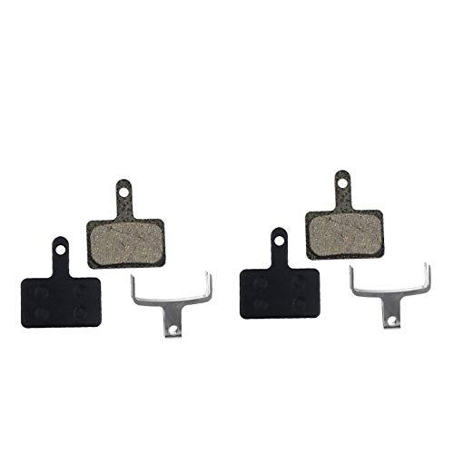 2x Bremsbeläge Bremsbelagsatz für Shimano BR-M575 BR-M525 BR-M506 BR-M505 BR-M495 BR-M486 BR-M485 BR-M475 BR-M465 BR-M447 BR-M446 BR-M445 BR-M416