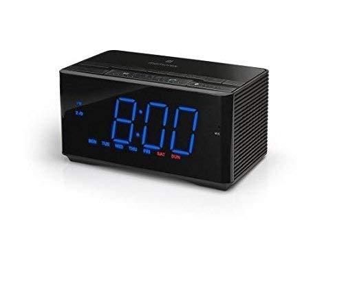 Memorex InteliSet Bluetooth Alarm Clock Radio - Black (MC5550)
