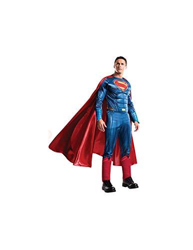 DISBACANAL Disfraz Superman Adulto: Batman vs Superman - -, M