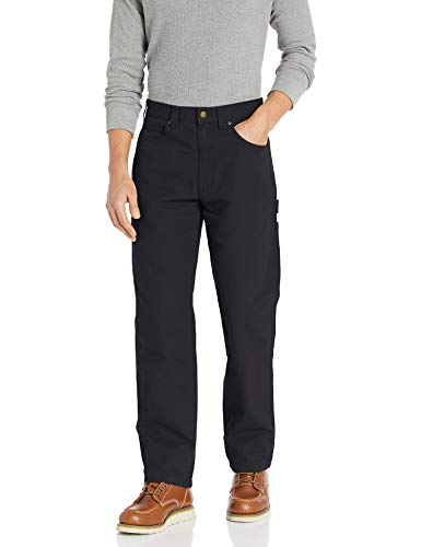 Amazon Essentials Carpenter with Tool Pockets jeans, Black, 38W x 32L