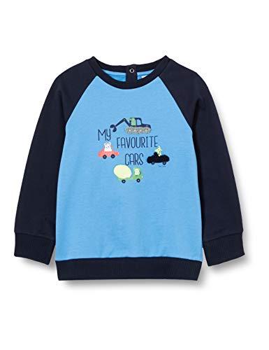 TOM TAILOR Baby-Jungen Sweatshirt T-Shirt, Navy Blazer Blue, 80