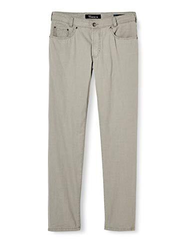Atelier GARDEUR Nevio Sun Faded Cotton Pantaloni, Grigio (Grigio 81), 36W x 36L Uomo