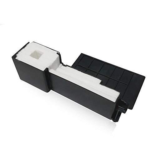 JRUIAN Accesorios de Impresora 4 Piezas Almohadilla de depósito de Tinta Residual Compatible con Epson L355 L210 L110 L380 L365 L220 L222 L360 L366 L310 L111 L120 L130 L132 L211 L300 L301 L355 L210