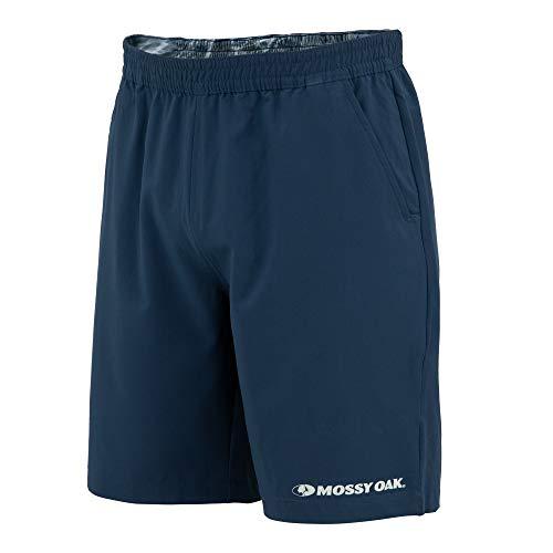 Mossy Oak Gym Shorts for Men, Workout Shorts, Athletic Shorts, Running, Dri Fit Navy