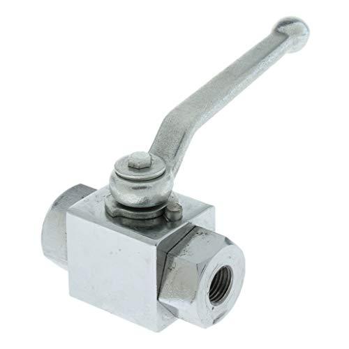 B Blesiya DN6 - Válvula de drenaje (1/4', 0,125 pulgadas, latón)