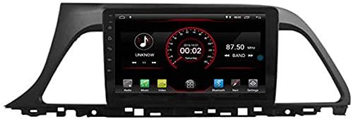 WJYCGFKJ Android 10 Lettore Dvd per Auto GPS Stereo Head Unit Navi Radio Multimedia WiFi per Hyundai Sonata LF 2015 2016 2017 Supporto per Il Controllo del Volante