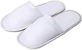 Pack de 5 pares de zapatillas de viaje desechables para
