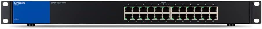 リンクシス スイッチングハブ LAN ギガビット 24ポート