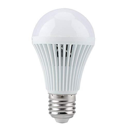 Riuty LED-Bewegungssensorlampe, E27 Reinweiß Beleuchtung Menschlicher Körper und Licht Induktionssensor LED Glühlampe Lampe für Garten, Garage (AC 220 V)(5W)