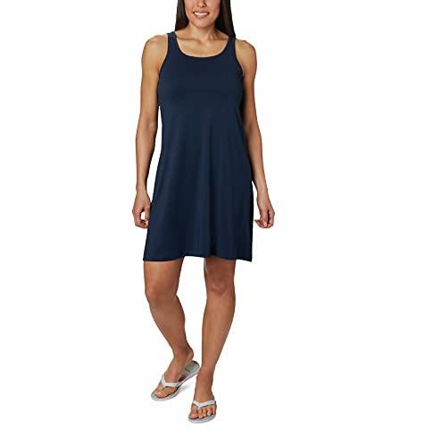 Columbia Women's Freezer Iii Dress with Wicking & Sun Protection Fabric, Collegiate Navy, Medium