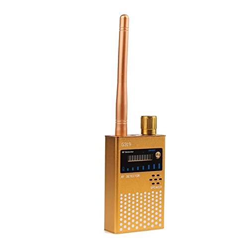 XINXI-YW Cámaras montadas en el Coche en el Coche Multifunción inalámbrica RF Detector de señal Bur gsm GPS Lente de señal RF Tracker Detect Finder Radio Scanner Anti Cámara Sincer para carros