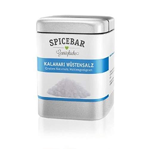 Spicebar Kalahari Wüstensalz, Grobes Natursalz, für die Mühle geeignet (1 x 170g)
