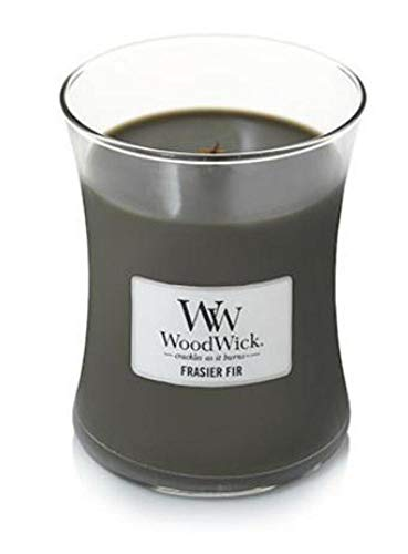 WoodWick Large Hourglass Candle - Frasier Fir