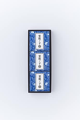 小布施堂 栗鹿ノ子ミニ 3個入(80g×3)