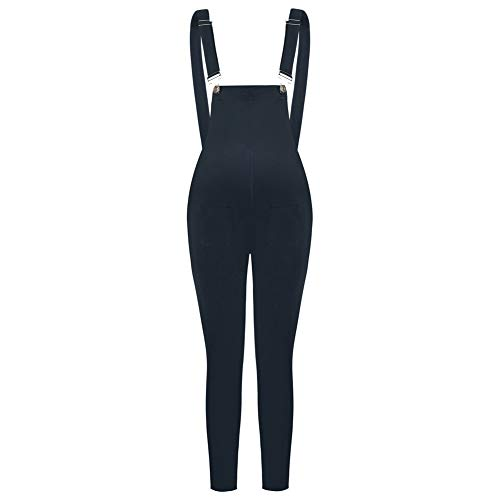 Maacie Damen Jeans Latzhose Latzhose Hotpants Slim-Fit Jeans Overall Harems Latzjeans MCE02109-2_S