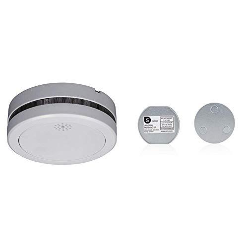 Smartwares 10-Jahres VDs Rauchmelder/Feuermelder mit Lithium Batterie, RM217 + Magnetbefestigungsset...