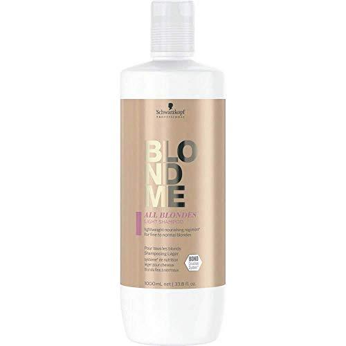 Schwarzkopf blondme keratin restore all blondes light shampoo 1000ml