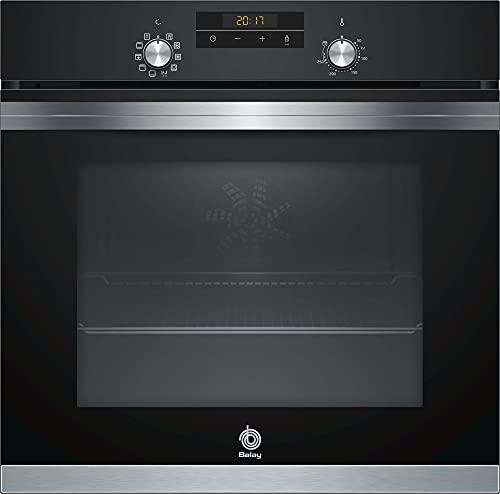 Balay 3HB4331N0 - Horno Serie Acero, 60 cm, Color Negro