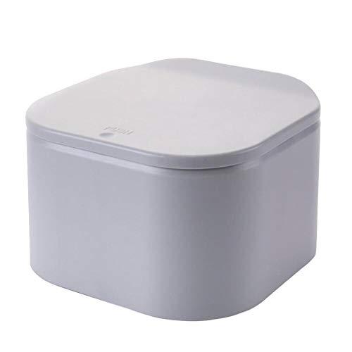 CUTICATE Contenedor de Basura de mostrador Dispensador de Cubo de Basura Cuadrado...