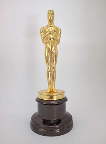 DRIE 1:1 Oscar standbeeld metalen beeldjes Oscar trofee awards prijs in metaal Oscar ambacht,A