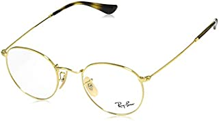 Ray-Ban Men's RX3447V Round Metal Eyeglasses