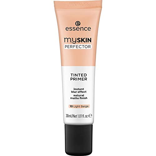 essence my SKIN PERFECTOR TINTED PRIMER 10 Light Beige - 3er Pack