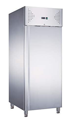 Armadio frigo refrigerato in acciaio inox 1 anta 700 lt, ventilato -2 +8 °C