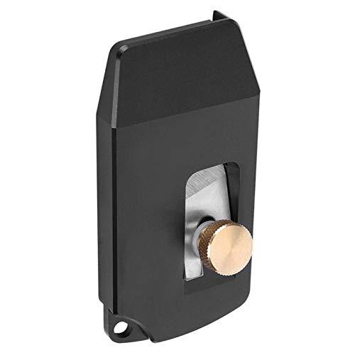 Flachschnitt-Kantenschneider Hochgeschwindigkeitsstahl Aluminiumlegierung 18 × 35 Langlebige Messingmutter mit hoher Härte für PVC