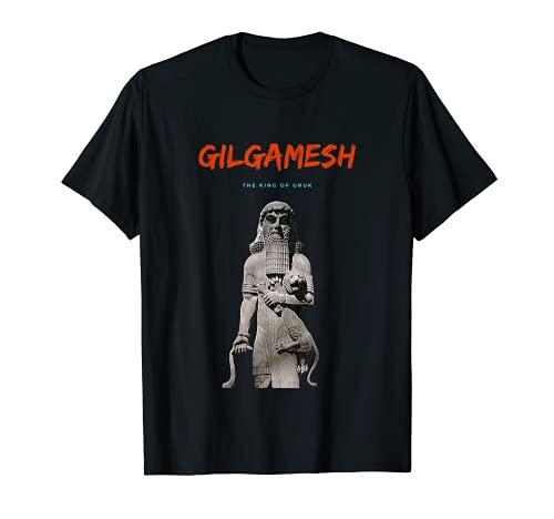 Epic of Gilgamesh Sumerian Mythology King of Uruk Lion Tamer T-Shirt