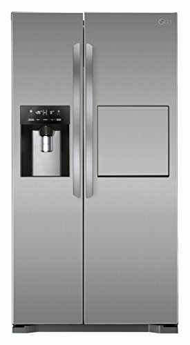 LG GSP 325 PZCV - Frigorífico side-by-side (Independiente, Acero inoxidable, Puerta americana, 507 L, SN, T, 40 Db)