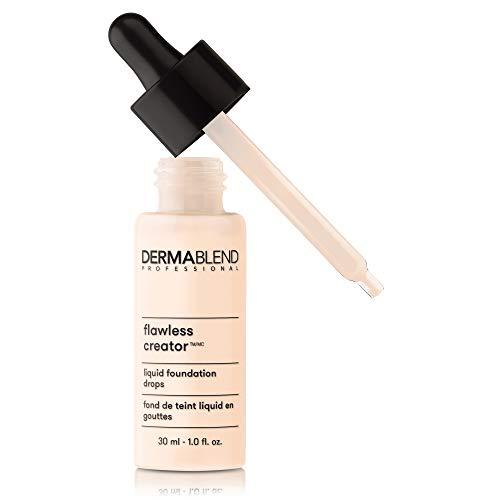 Dermablend Flawless Creator Multi-Use Liquid Foundation Makeup, 0N, 1 Fl Oz
