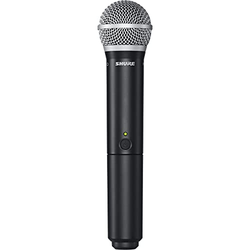 Shure BLX288/PG58 Dual Channel Wireless Microphone System with (2) PG58 Handheld Vocal Mics