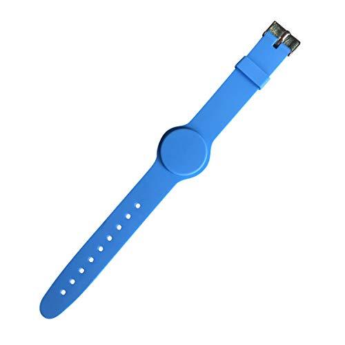 YARONGTECH pulsera rfid 1K ajustable Tamaño azul color(paquete de 5)