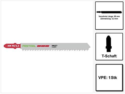 Festool decoupeerzaagblad HM 90/3,3/1 voor laminaat 204269 hardmetaal